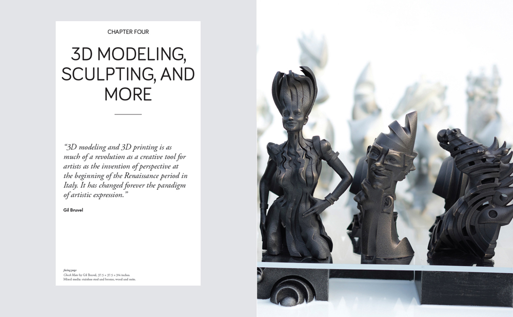 3d modeling, sculpting and more a page from Bridgette Mongeon's book on 3D Technology