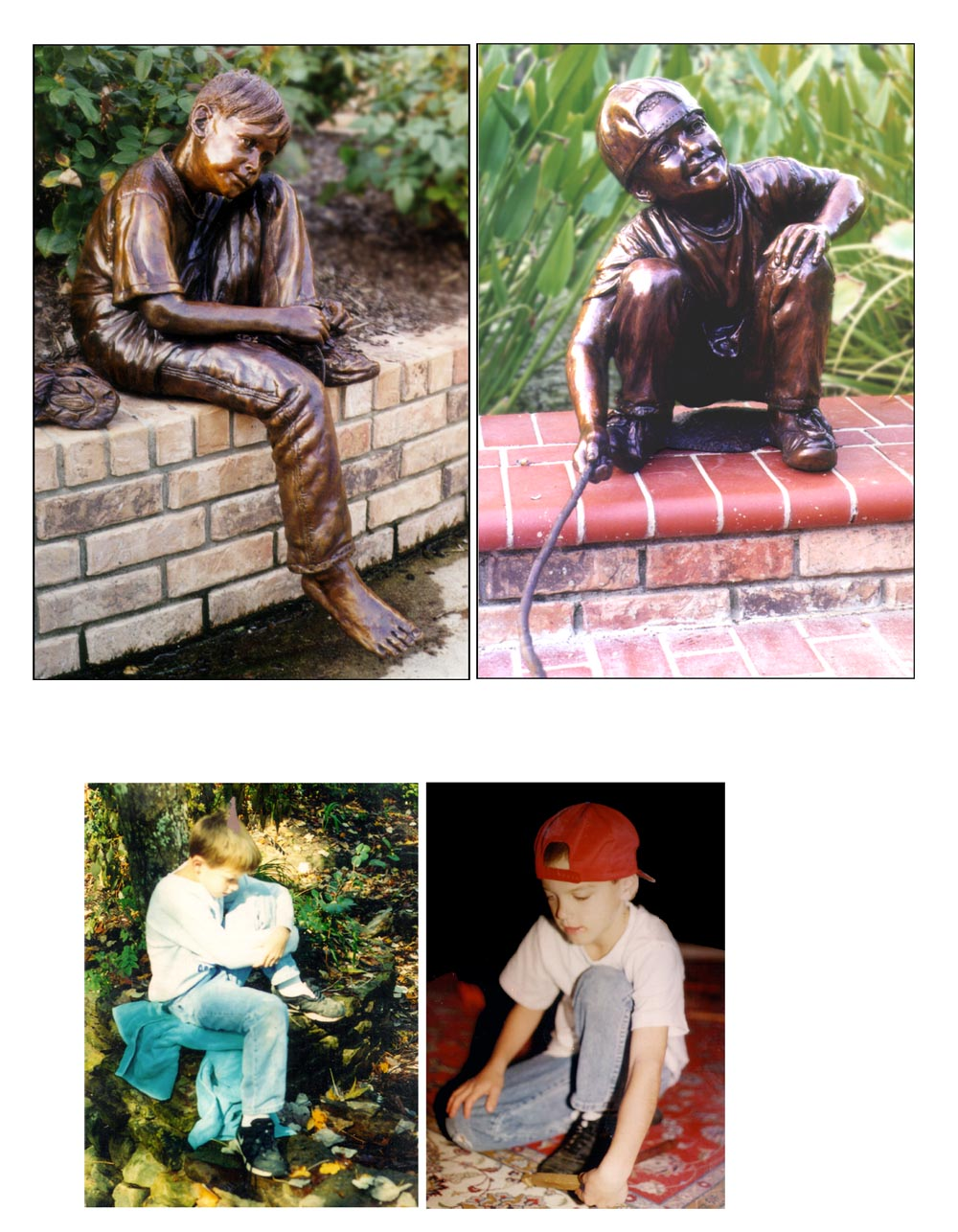Bridgette mongeon specializes in sculpting children