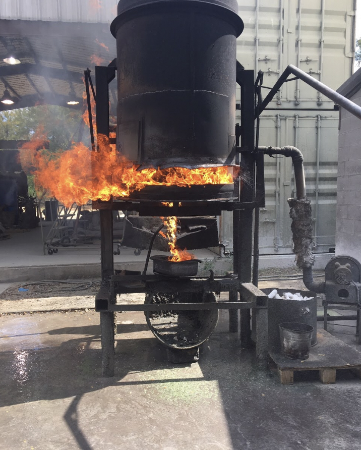 the foundry burn out oven