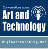 Sculptor Bridgette Mongeon is the host of Art and Technology podcast