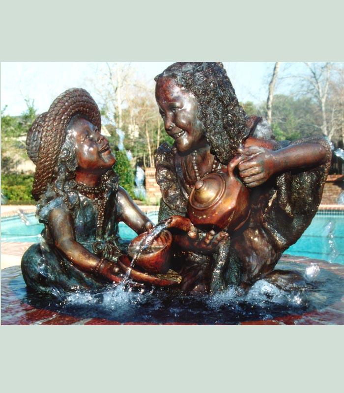 statues of bronze memories