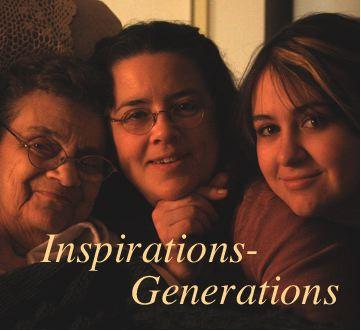 Inspiration Generations podcast by sculptor Bridgette Mongeon with co hose Christina Sizemore.