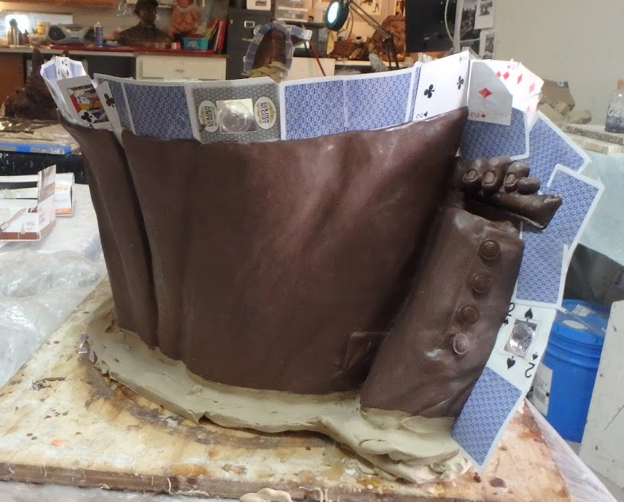 How to make a rubber mold for bronze casting.