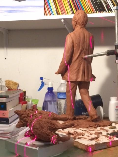 3D scanning John Turner sculpture