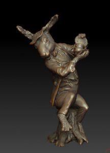 3D model of March Hare by Bridgette Mongeon