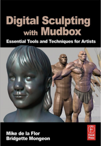 Digital sculpting with Mudbox book
