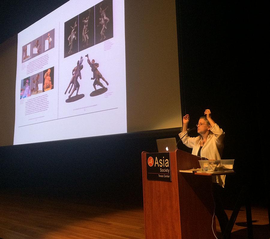 Bridgette Mongeon speaker on 3D technology at the Asia Society