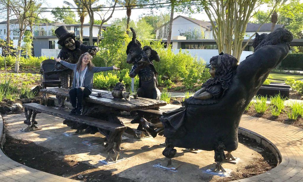 Bridgette Mongeon and Alice in Wonderland