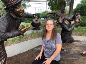 Bridgette Mongeon STEAM and Alice in Wonderland.