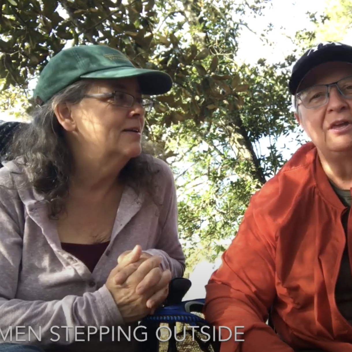 Bridgette Mongeon and Carol talk about women stepping outside