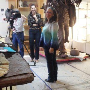 Texas artist Bridgette is interviewed.